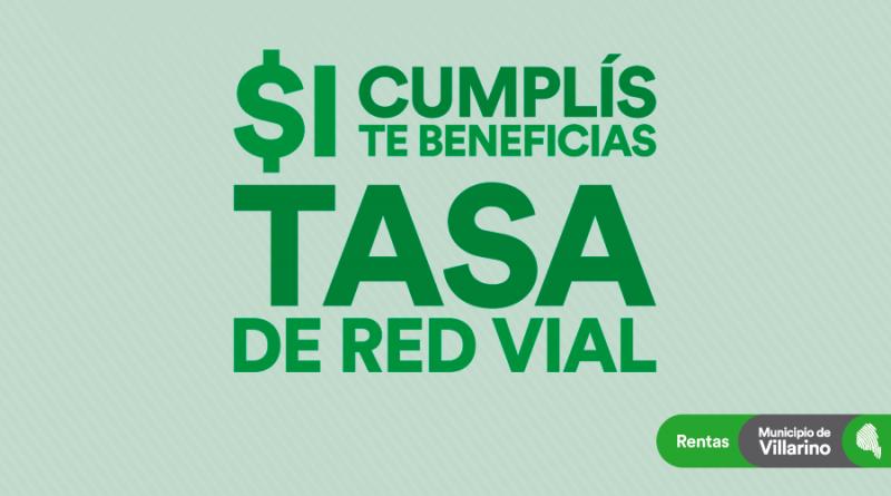 Tasa-Red-Vial