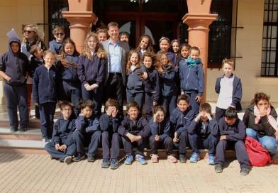 Visita de alumnos del Colegio Padre Pedro Bonacina