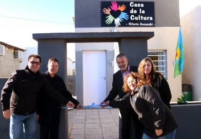"""La """"Casa de la Cultura"""" celebró 3 años con un nuevo espacio"""