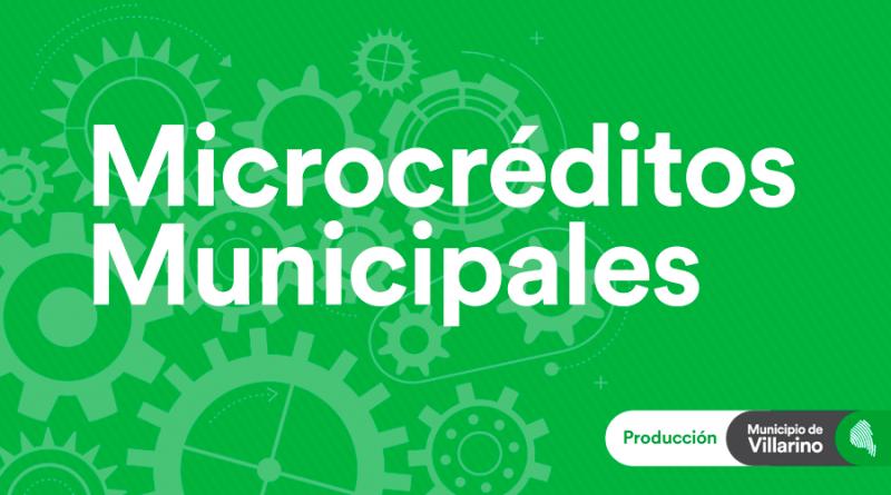 Producción-Microcréditos