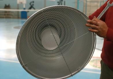 Renovación del sistema eléctrico en el Centro Municipal de Deporte en Médanos