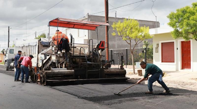 Hilario Ascasubi, finalizó la obra de asfalto