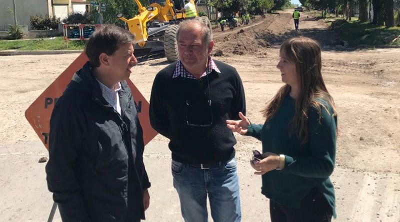 Continúan las obras de pavimentación en Pedro Luro