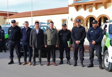 Tres nuevos patrulleros para la seguridad de los vecinos de Villarino