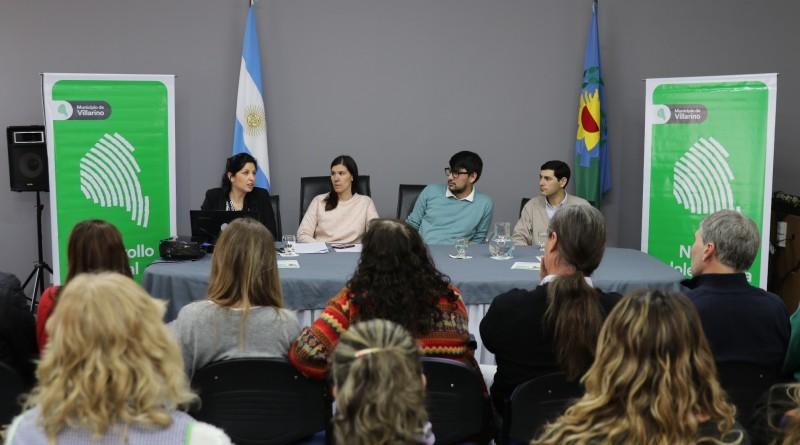 "Desarrollo Social Villarino presentó su programa de ""Familias Alternativas"""