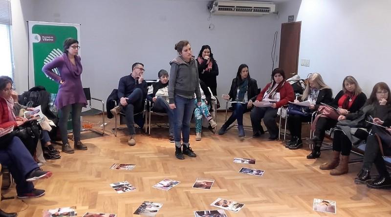 Profesionales de Villarino participaron de una capacitación sobre Salud Sexual y Reproductiva