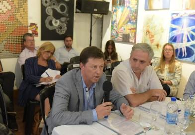 Bevilacqua participó del segundo encuentro de la Comisión Bicameral