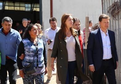 El intendente recibió a la gobernadora María Eugenia Vidal en Médanos