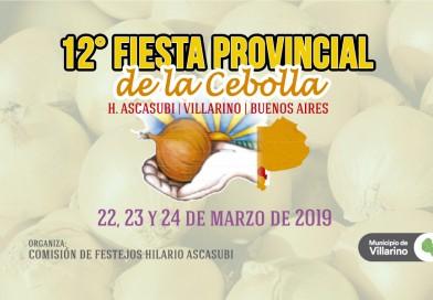 Se aproxima la 12° Fiesta Provincial de la Cebolla