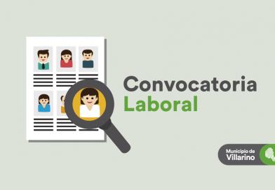 Convocatoria laboral para trabajadores sociales