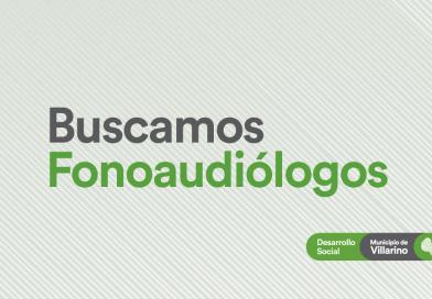 El Municipio de Villarino busca fonoaudiólogos para incorporar a su equipo de trabajo