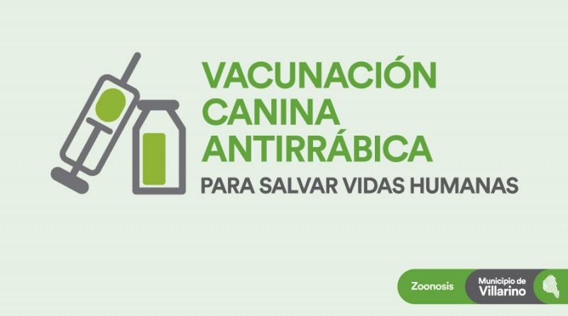 Comienza la campaña de Vacunación Canina Antirrabica