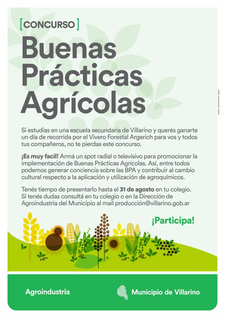 afiche- buenas prácticas agrícolas