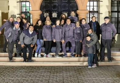 Los Adultos Mayores de Villarino viajaron a Mar del Plata para disputar la etapa final de los Juegos Bonarenses