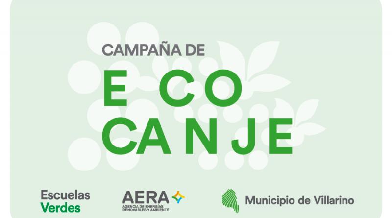 Comienza la campaña de Ecocanje en Villarino