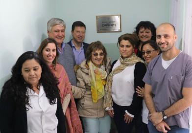 El CAPS del Barrio Bonacina abrió las puertas de su nuevo vacunatorio