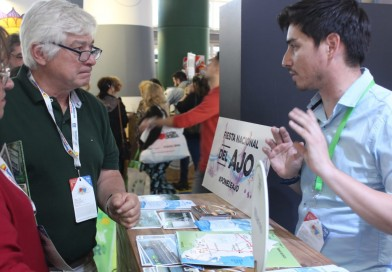 Villarino estuvo presente en la Feria Internacional de Turismo