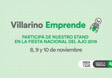 Villarino Emprende abrió la convocatoria a emprendedores para la FNA 2019