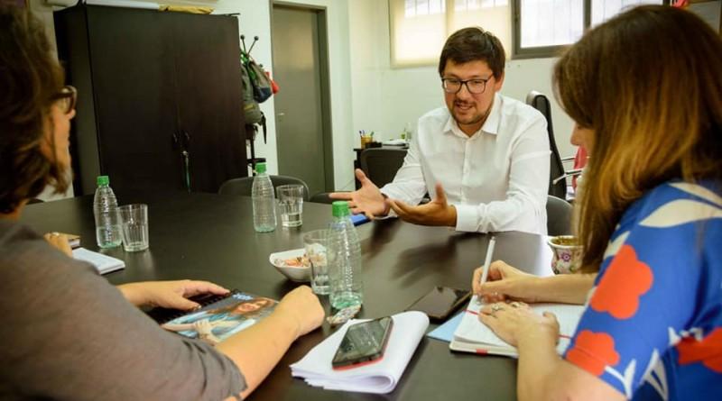 Desarrollo Social Villarino recorrió los ministerios de la provincia en busca de nuevos programas
