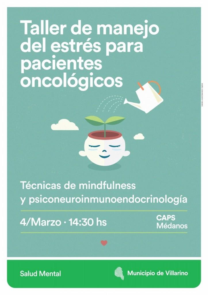 taller de manejo del estrés para pacientes oncológicos