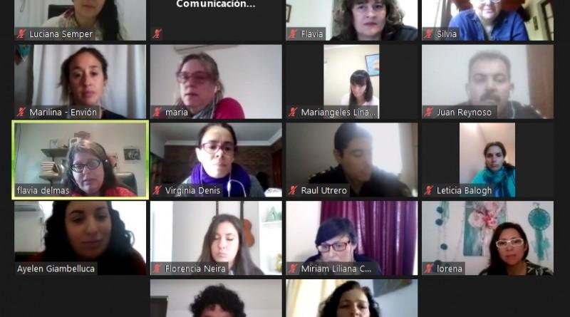 Se realizó el primer encuentro anual de la Mesa Local Intersectorial de Violencia de Género