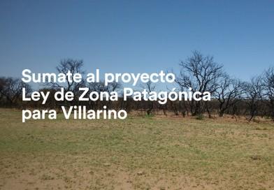Sumate al proyecto de Ley de Zona Patagónica para Villarino