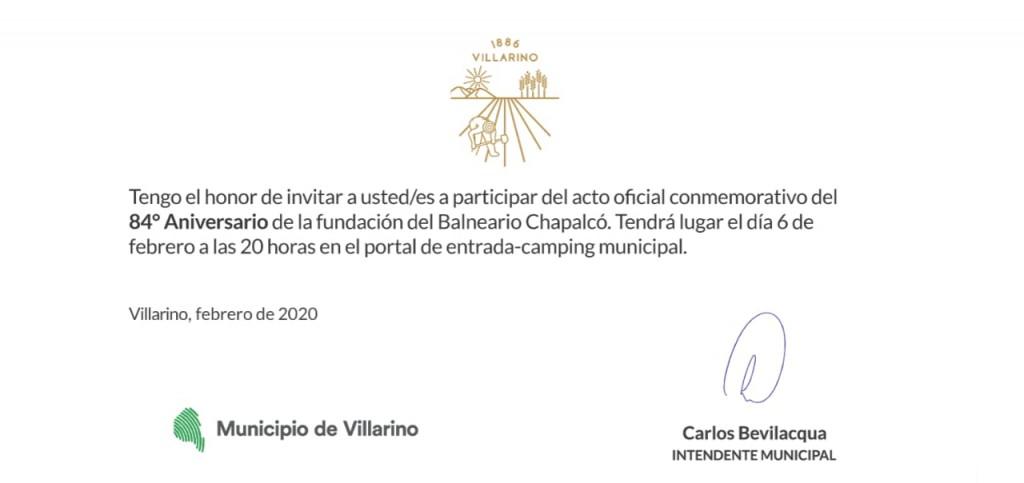 invitacion chapalco