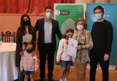 Villarino: 115 familias recibieron la escritura de su hogar